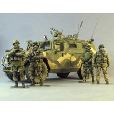 """GAZ-233014 STS """"Tiger""""&""""Polite,green men"""""""