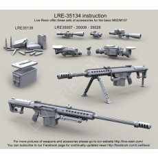 Barrett M107A1 .50 Caliber Long Range Sniper Rifle (LRSR) and M107A1 CQB