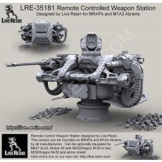 Remote Controlled Weapon Station For MRAPs and M1 Abrams