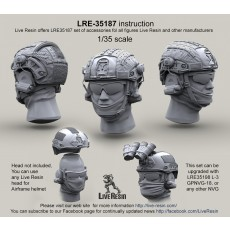 Airframe helmet with helmet cover with headsets rail adaptor