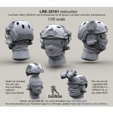 Ops Core fast helmet with headsets rail adaptor