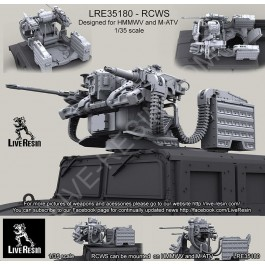Remote Controlled Weapon Station For HMMWV and M-ATV
