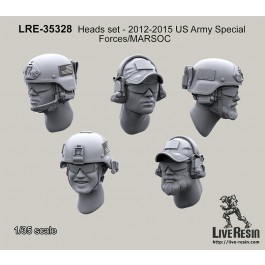 Heads set - 2013 US Army Special Forces/MARSOC
