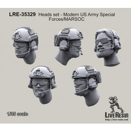 Heads set - Modern US Army Special Forces/MARSOC