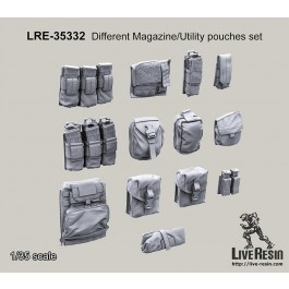 Different Magazine/Utility pouches set