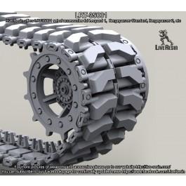 Diehl 139E2 track for Leopard 1, Bergepanzer Standard, Bergepanzer 2, etc