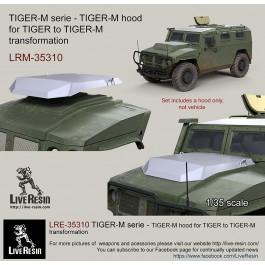 TIGER-M serie - TIGER-M hood for TIGER to TIGER-M transformation