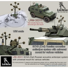 SOVA (Owl) Russian acoustics antisniper system with universal mount for various vehicles