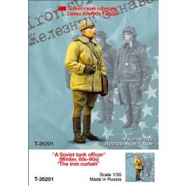 """A Soviet tank officer"" (Winter, 60s-90s) ""The iron curtain"""