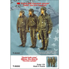 """Soviet tank crew"" (Winter, 50s-80s) (3) ""The iron curtain"""