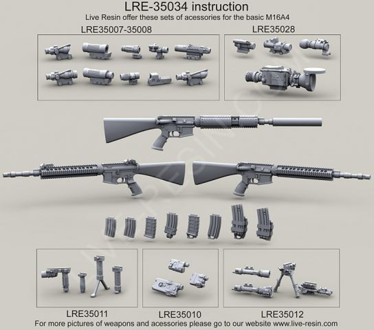 US Navy/SOF Mk 12 Mod 0/1 Special Purpose Rifle (SPR)