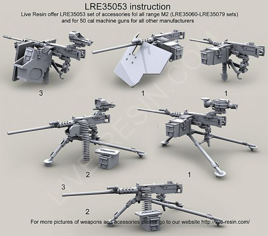 M2 Browning .50 Caliber Machine Gun ammo belts set