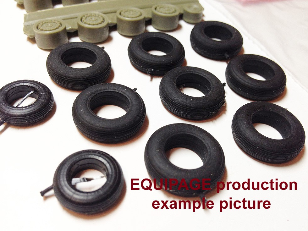 1 48 for me 209 rubber resin wheels set set includes rubber tyres