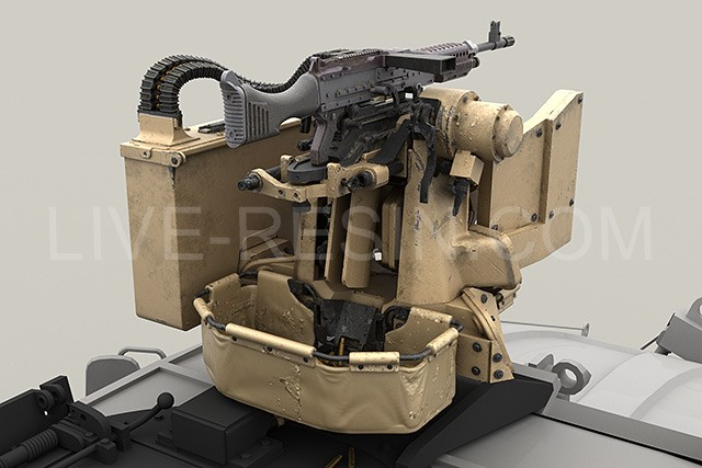 R And D Trucks >> M-ATV SOCOM Version upgrade. Part 1 - M153 Protector Crows II with M240.
