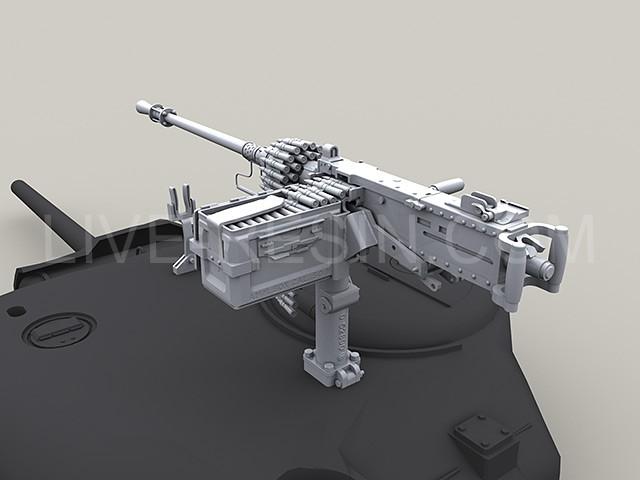 wwii 50 caliber machine gun