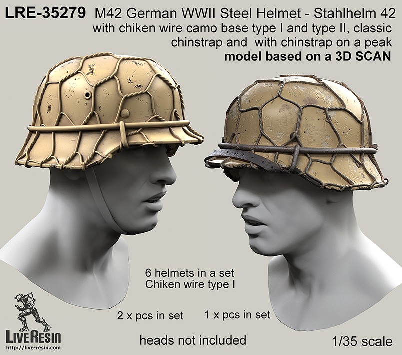 M42 German Wwii Steel Helmet Stahlhelm 42 With Chiken