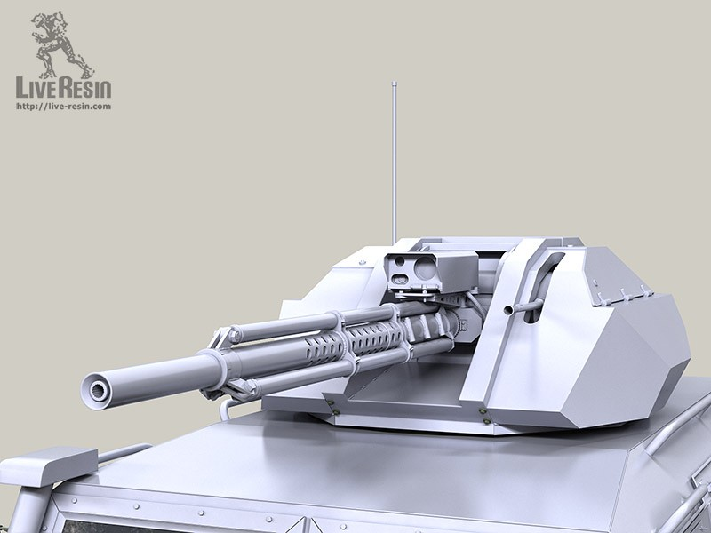 TIGER-M serie - RCW armor turret with improved 30mm 2A72 gun