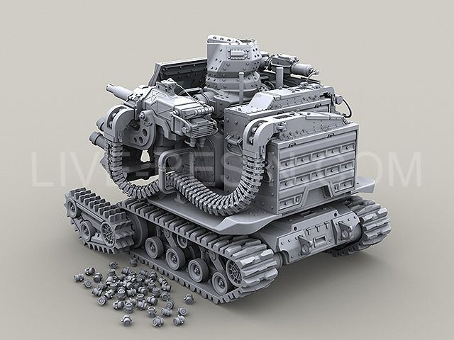 Robot Tank Tracks