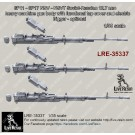 6P11 - 6P17 NSV - NSVT Soviet-Russian 12.7mm calibre heavy machine gun body with functional top cover and electric trigger - optional