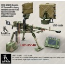6P60 KORD Russian 12.7mm calibre heavy machine gun on 6T20 tripod with FARA VR weapon guidance radar