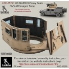 US MARSOC/Navy Seals GMV-M Six Grain Turret.  Set includes turret only, not a shield and weapons. Recommend to use with all range Live Resin weapons