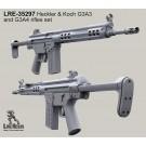 Heckler & Koch G3A3 and G3A4 rifles set