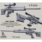 Heckler & Koch PSG1 (Präzisionsschützengewehr) sniper rifle