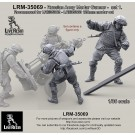 Russian Army Mortar Gunner set 1. For LRE35362 - LRE35363 120mm mortar set