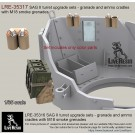 SAG turret type II upgrade sets - ammo boxes and cradles with M18 smoke grenades
