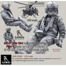 MH-6 Liitle Bird helicopter crew set - Pilot 1 equip by AIR WARRIOR SYSTEM (PSGC), HGU56/P helmet, correct to Kitty Hawk KH50004 MH-6 Little Bird