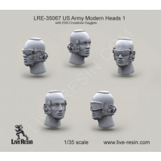 US Army Modern Heads with ESS Crossbow Goggles