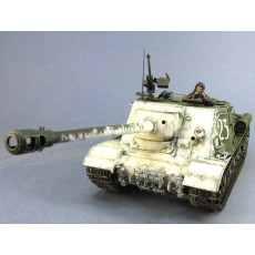 ISU-122S Tamiya, with figures