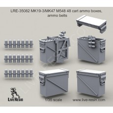 MK19-3/MK47 M548 48 cart ammo boxes, ammo belts