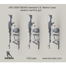 M240G standard U.S. Marine Corps medium machine gun