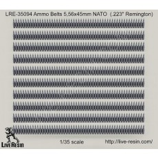 "Ammo Belts 5,56x45mm NATO  (.223"" Remington)"