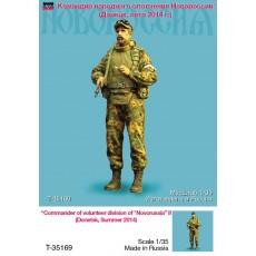 Сommander of volunteer division of Novorussia (Summer 2014), one figure