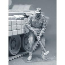 Modern Russian tankers (any modern Russian equipment) Three figures in set. Pre sale - shipping in two weeks