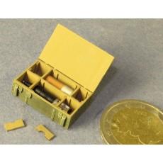 Shell box for 125mm tank ammunition High Explosive (HE)