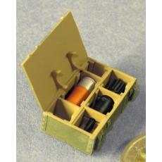 Shell box for 125mm tank ammunition (HESH)