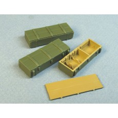 Boxes for 122mm shells for the Russian D-30 howitzers