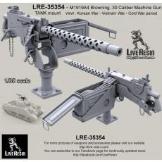 M1919A4 Browning .30 Caliber Machine Gun with TANK mount WWII - Korean War - Vietnam War - Cold War period