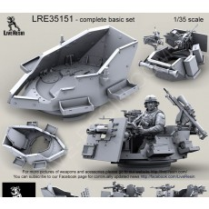 Save-A-Gunner turret for all vehicles. Recommended to use with LRE35152 set, for mount  on all vehicles