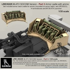 M-ATV SOCOM Version upgrade. Part 3 - Part 3 Armor cadle with ammo.