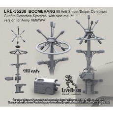 BOOMERANG III Anti-Sniper/Sniper Detection/Gunfire Detection Systems with side mount version for Army HMMWV