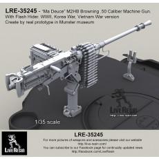 M2HB Browning .50 Caliber Machine Gun with flash hider TANK version WWII - Korean War - Vietnam War - Cold War period
