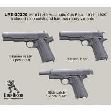 M1911 .45 Automatic Colt Pistol 1911 - 1926 included slide catch and hammer ready variants