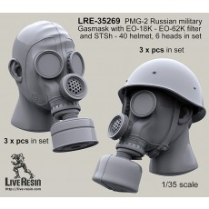 PMG-2 Russian military Gasmask with EO-18K - EO-62K filter