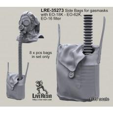 Empty Side Bags for gasmasks for EO-18K - EO-62K and EO-16 filter