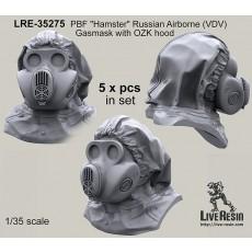 "PBF ""Hamster"" Russian Airborne (VDV) Gasmask with OZK hood"