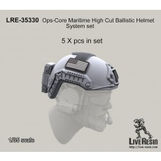 Ops-Core Maritime High Cut Ballistic Helmet System set